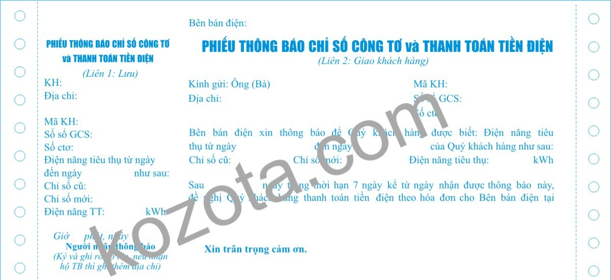 chi so cong to tien dien